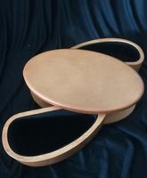 Oval caddy with 2 sides