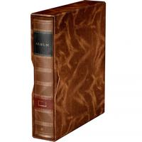 ALBUM - 4-Ringbinder in the slipcase, brown