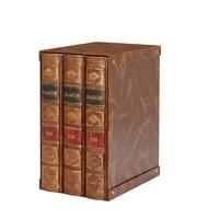 MASTER 2-Ringbinder, 3 pcs. in the slipcase, brown
