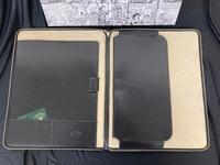 Leather Case & A4 Document