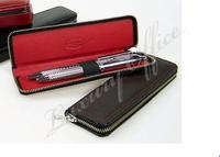 Leather Pencase for 2 pens
