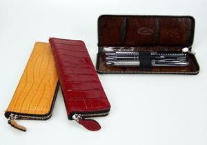 Leather Pencase for 3 pens