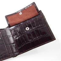 Leather Mens wallet, 8 cards