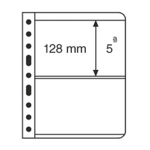 VARIO plastic pockets, 2-way division