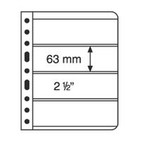 VARIO Plastic Pockets, 4-way division