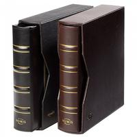 Leather Binder NUMIS with leatherette slipcase