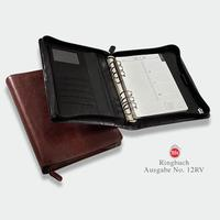 Luxury leather organiser No. 12, incl. diary K 12