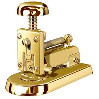 Desk stapler gold plated, small