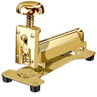 Desk stapler gold plated, large