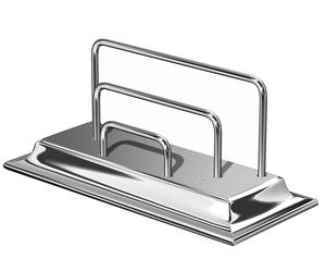 Letter Rack, Chrome