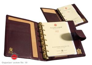 Organizer system No. 10,  incl. diary K 10