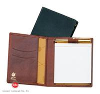 Luxury leather notepad No. 24